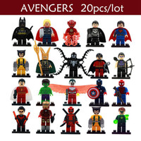 best wolverine - NEW Super Heroes Minifigures Ghost Rider Batman Wolverine Building Block Figures Best Children Gift