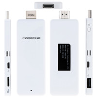 android computer interface - MOREFINE M1 WiFi Bluetooth Dual OS Pocket Mini PC Host Mini PC Computer HDMI Interface for Windows Android