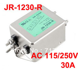 Wholesale Alternating Current Power Line EMI Filter AC V Hz A JR R