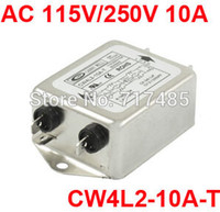 ac noise filter - AC Power Single Phase Noise Line Filter CW4L2 A T
