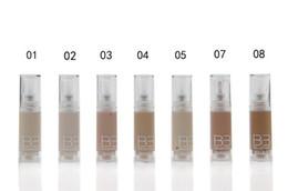 Wholesale Professional Makeup Face Liquid Foundation BB Cream Colours Women Sunscreen Whitening Concealer Liquid ml pc