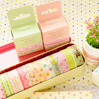 Wholesale DIY Cute Kawaii Cartoon Deco Washi Tape Animal Lace Masking Tapes for Home Decoration Scrapbooking