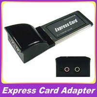 Wholesale Expresscard mm Channel Sound Express Card Adapter Laptop PC Card Drop Shipping