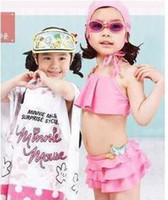 Wholesale 2011 new arrive baby bikini pink butterfly Baby Swimming suit Swimwear hot selling EI110503011