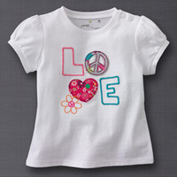 Wholesale Jumping beans boys t shirts girls tshirts dresses blouse top garments outfits baby tee shirts LM96