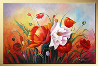 Wholesale hand painted decorative The profusion Still life flowers oil paintings on canvas x24inch