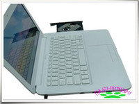 Wholesale 13 inch WIFI Notebook Laptop G G Intel Atom D525 GHz with CD ROM drive Macbook NEW