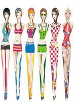 Wholesale Bikini girl Eyebrow Tweezers cosmetic tweezers for makeup wholesales