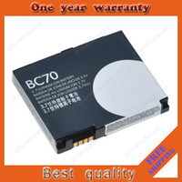 Wholesale BC70 battery for Motorola mobile cell phone A1800 A1890 E6 E6e from factory retail mAh