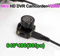 Wholesale Mini HD DVR Camcorder Y2000 world s smallest camera Hidden Camera