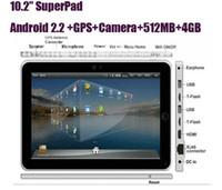 Android 2.2 superpad 10.2 tablet pc - 10 quot SuperPad II Android Infortm X220 flytouch3 GPS WIFI Camera G FLASH MB TABLET PC