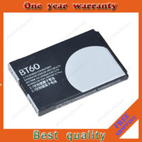 Wholesale BT60 battery for Motorola mobile cell phone Q8 Q9 A1210 A3000 A3100 from factory retail mAh