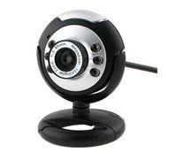 Wholesale Hottest Driverless Wedcam Web Cam Camera PC Laptop win7 mic USB LED bits CMOS sensor