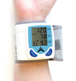 Wholesale Digital Wrist Blood Pressure Monitor Heart Beat Meter