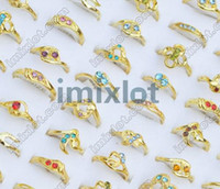 Wholesale Ring Jewelry CZ amp gold P Rings Jewelry M10