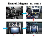 Wholesale Renault Megane din inch Digital screen DVD BT TV FM IPOD RDS GPS CAN BUS