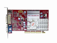 Wholesale NEW ATI Radeon MB bit AGP D Video Card with TV Out VGA DVI