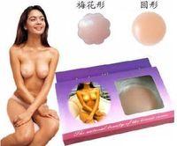petals and circular (random delivery)   100pcs Nipple Silicone Pad NEW Silicon Silicone Nu Breast Bra Nipple Cover Patch