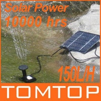 fountain pump water - Solar Power Fountain Pool Water Pump Garden Plants Watering Kit Low Carbon Garden Watering outdoor H4009