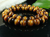 Wholesale 10mm nature tiger eye stone Loose Beads quot