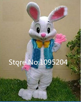 easter bunny costumes - 2015 Sell Like Hot Cakes Professional Easter Bunny Mascot Costume Bugs Rabbit Hare Adult
