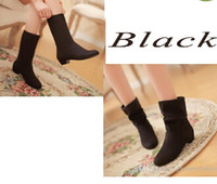 ladies shoes low price - 2016 Factory Price Fashion Martin Boot Autumn Ankle Boots Women Shoes Flat Heel Casual Women s Fashion Boots Lady Suede WI47