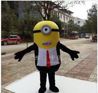 2016 Serventi del costume della mascotte Cattivissimo me minion costume della mascotte costume operato del fumetto libero di trasporto
