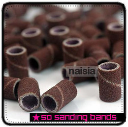 Wholesale 50 X SANDING BANDS DRILL FILE MACHINE BITS