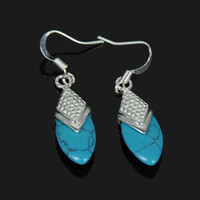 Wholesale Fashion jewelry hot sell sterling silver bullet gemstone earring jewelry set zst112