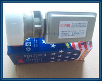 Wholesale New PBI gold Ku band dual polarization single output LNBF Ku band LNB