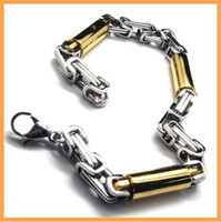 Wholesale Almost free sample men s L stainless steel fashion bracelets accessories bracelet chains ZY18833