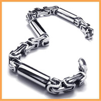 Wholesale Almost free sample men s L stainless steel fashion bracelets accessories bracelet chain ZY18831