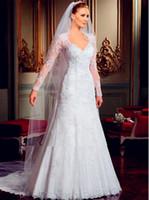 bead shapes chart - custom Vestido DE novia long sleeved dress luxury beaded dress back open an a line shape