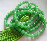 Wholesale Tibet Buddhist Jade Prayer Beads Mala Necklace mm