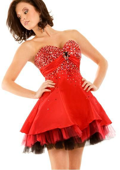 Cheap Red Homecoming Dresses Red Homecoming Dresses