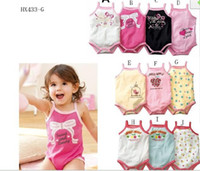 Wholesale WU2010 amp Summer style cotton baby harness Kazakhstan clothes climbing clothes bodysuit