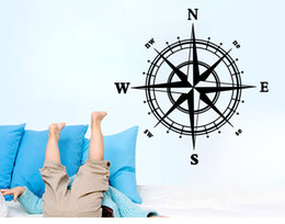Compass Wall Art Mural Wall Decal Sticker Living Room Bedroom Specialized Wallpaper Decoration Poster Home Art Decal