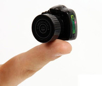 Wholesale 2011 New World s Smallest Camera Hidden Camera Mini HD DVR Camcorder Y2000 USB2 Webcam