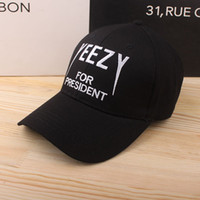 Wholesale Tour Kanye West Yeezus Cap Adjustable Hat Yeezy Boost Duck Snapback Baseball Cap Embroidery Fitted Trucker Hat For Men Women