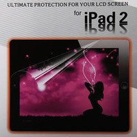 Wholesale LCD Screen protector For laptop screen protector mirror screen protector For ipad2