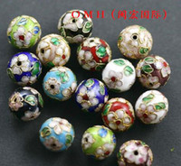 Wholesale OMH jewelry cloisonne beads Chinese characteristics bead mm