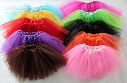 Wholesale Layers Baby Tutus Skirt Tutu Dress Colors Can Mixed All Colors