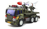 big model rockets - 2016 New Children s Toys Inertia Carriers Rocket Missile Launcher Military Vehicles Model Toys Gift WJ025A
