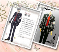 Wholesale Japanese School Uniform Vampire Knight Day Class Boy black cotton tuouse uniform Cosplay Costume