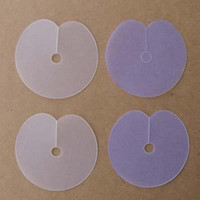 Wholesale 50items Per Single Hole Template Shield Hair Extensions Spacer Hair Extension Tools