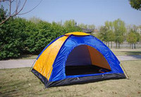 Wholesale Retail High quality Instant tent Automatic camping tent person Double layer colors Free shippi