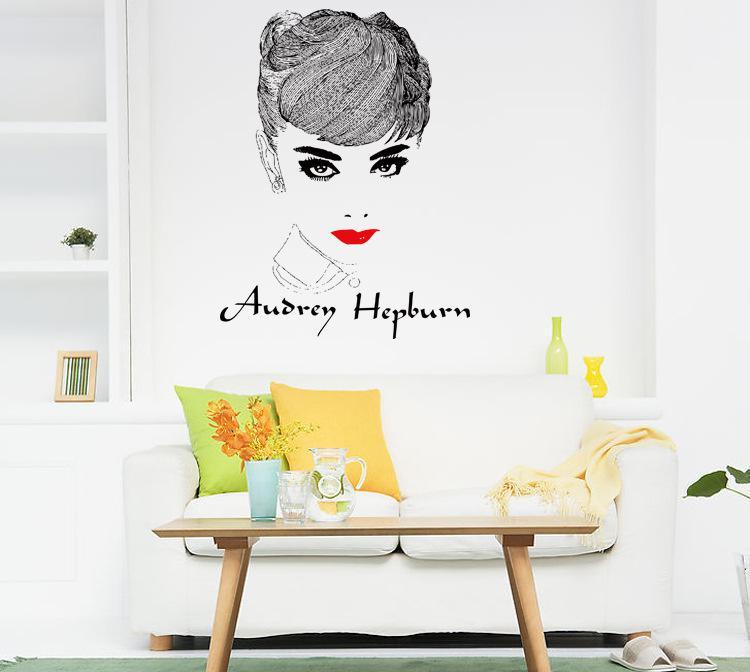 Audrey Hepburn Wall Art classic audrey hepburn wall art mural decor famous star hepburn