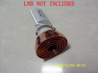 LNB   New Design Conical Scalar Ring for LNB, 4 Rings, prime focus antenna receive KU band signal