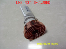 Wholesale New Design Conical Scalar Ring for LNB Rings prime focus antenna receive KU band signal