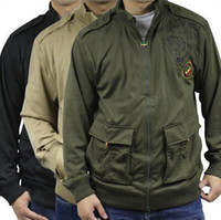 Wholesale Pelle Pelle men hip hop jacket size M L XL XXL black green khaki hot selling